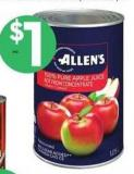 Allen's Apple Juice