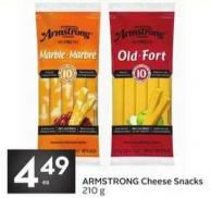 Armstrong Cheese Snacks 210 g