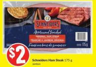 Schneiders Ham Steak - 175 g