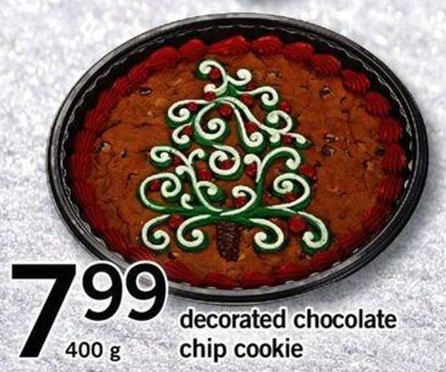 Decorated Chocolate Chip Cookie - 400 G