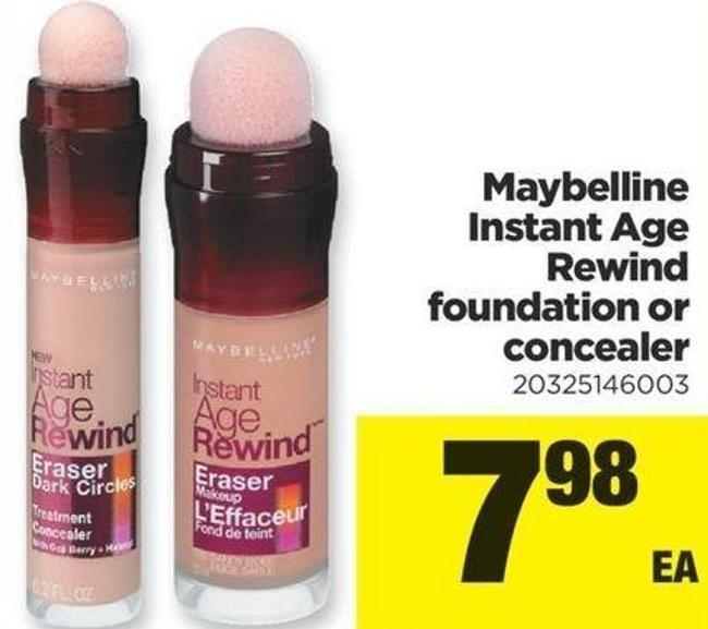 Maybelline Instant Age Rewind Foundation Or Concealer