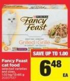 Fancy Feast Cat Food - 1.02 Kg/12x85 g