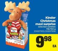 Kinder Christmas Maxi Surprise - 116/150 G