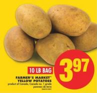 Farmer's Market Yellow Potatoes - 10 Lb Bag