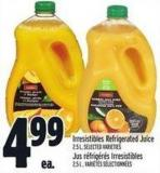 Irresistibles Refrigerated Juice