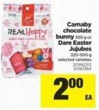 Carnaby Chocolate Bunny - 350 g Or Dare Easter Jujubes - 220-500 g