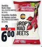 Hardbite Roots Chips 150 g