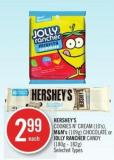 Hershey's Cookies N' Cream (10's) - M&m's (109g) Chocolate or Jolly Rancher Candy (180g - 182g)