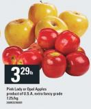 Pink Lady Or Opal Apples