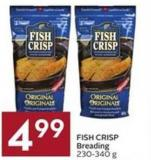 Fish Crisp Breading 230-340 g