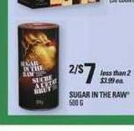 Sugar In The Raw - 500 g