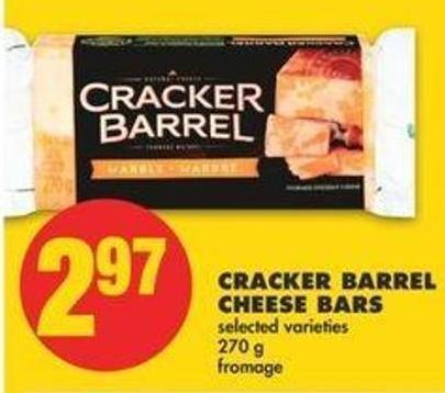 Cracker Barrel Cheese Bars - 270 G