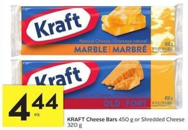 Kraft Cheese Bars