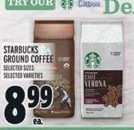 Starbucks Ground Coffeeselected Sizesselected Varieties