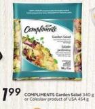 Compliments Garden Salad