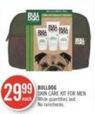 Bulldog Skin Care Kit For Men