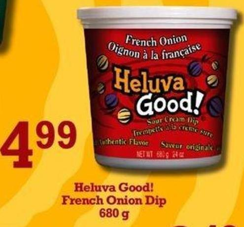 Heluva Good! French Onion Dip - 680 g