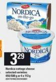 Nordica Cottage Cheese - 450/500 G Or 4 X 113 G