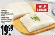 Wild Caught Halibut Fillets