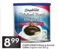 Compliments Roast & Ground Coffee