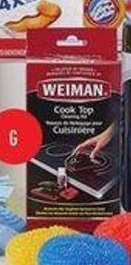 Weiman Cook Top Cleaner Kit