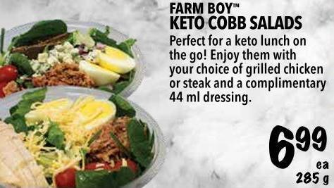 Farm Boy  Keto Cobb Salads 285 g