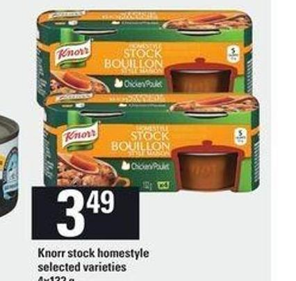 Knorr Stock Homestyle - 4x132 g