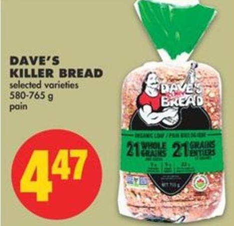 Dave's Killer Bread - 580-765 g
