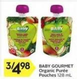 Baby Gourmet Organic Purée Pouches