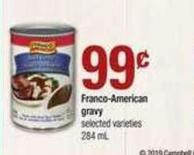 Franco American Gravy - 284 mL
