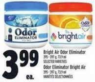 Bright Air Odor Eliminator 395 - 397 g - 73.9 ml