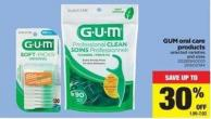 GUM Oral Care Products