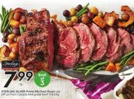 Sterling Silver Prime Rib Oven Roast