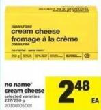 No Name Cream Cheese 227/250 G