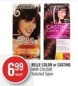 Belle Color or Casting Hair Colour