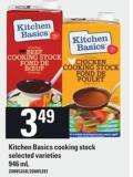 Kitchen Basics Cooking Stock