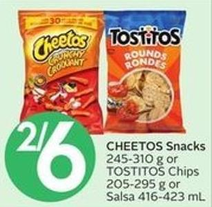 Cheetos Snacks