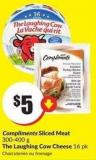 Compliments Sliced Meat 300-400 g The Laughing Cow Cheese 16 Pk