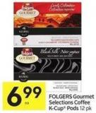Folgers Gourmet Selections Coffee K-cup Pods