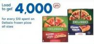 Delissio Frozen Pizza