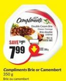 Compliments Brie or Camembert 350 g