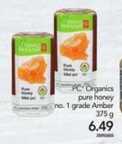 PC Organics Pure Honey - 375 g