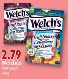 Welches Fruit Snack 140g