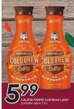 Califia Farms Cold Brew Latte