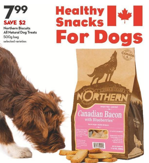 Northern Biscuits  All Natural Dog Treats 500g Bag