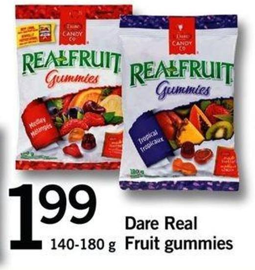 Dare Real Fruit Gummies - 140-180 G