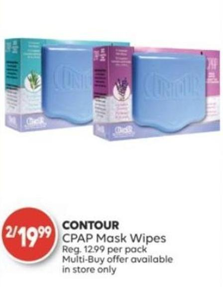 Contour Cpap Mask Wipes on sale   Salewhale ca