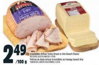 Irresistibles Artisan Turkey Breast Or Arla Havarti Cheese