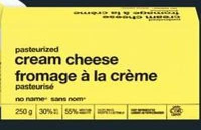 No Name Cream Cheese - 227/250 G