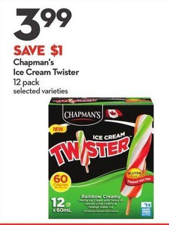 Chapman's Ice Cream Twister